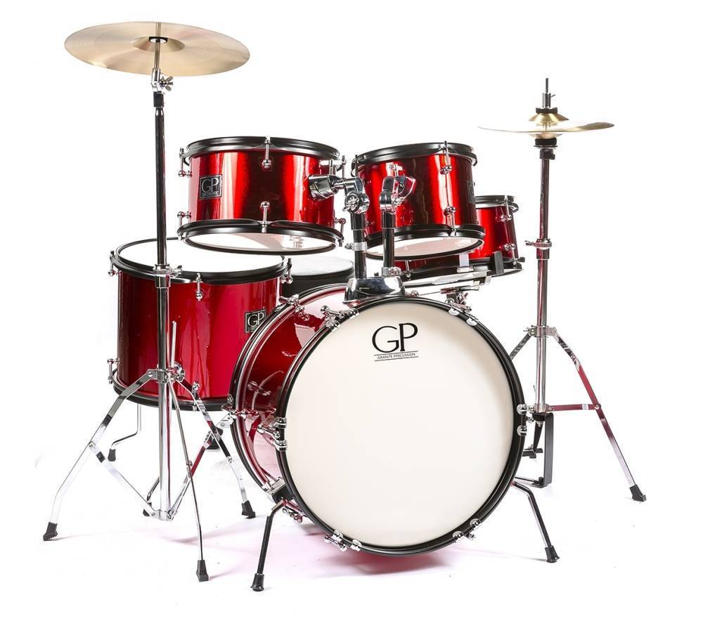 GP Percussion 5 Piece Junior Drum Set
