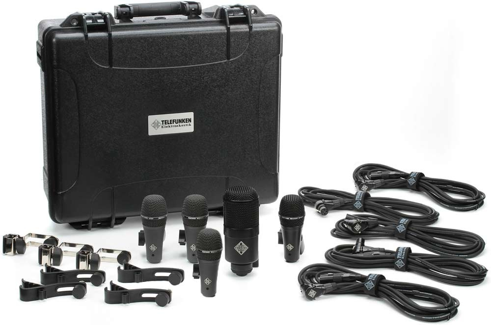 Telefunken DD5 Drum Mic Set