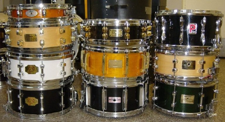 snare drums collection