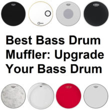 A collection of best Bass drum mufflers
